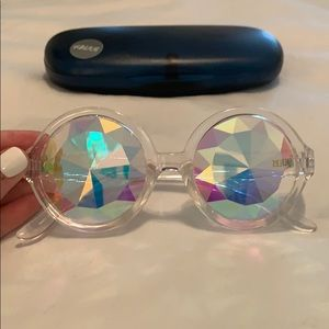 Urban Outfitters Accessories - Kaleidoscope sunglasses